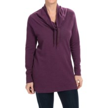 Columbia Sportswear North Alp Sweater - Cowl Neck (For Women) in Purple Dahlia Heather - Closeouts