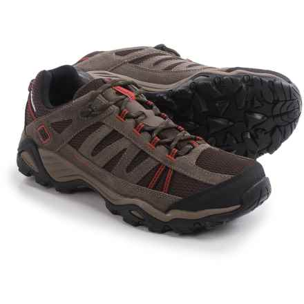 Columbia Sportswear North Plains WP Hiking Shoes - Waterproof (For Men) in Cordovan/Gypsy - Closeouts