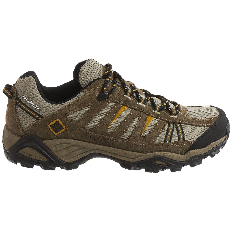 Columbia Men S North Plains Waterproof Hiking Shoes