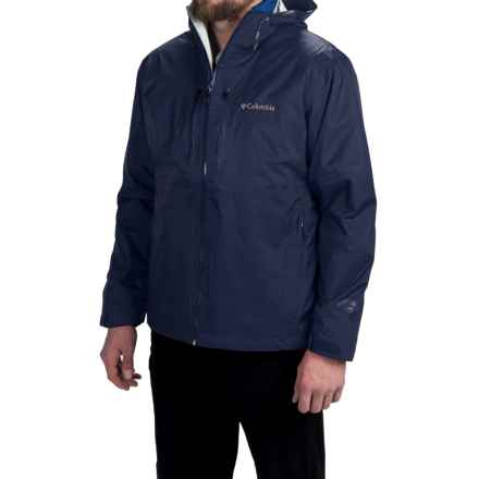 Columbia Sportswear Northwest Traveler Omni-Heat® Interchange Jacket - Waterproof, Insulated, 3-in-1 (For Men) in Collegiate Navy/Marine Blue - Closeouts
