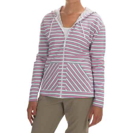 Columbia Sportswear Ocean Tides Hoodie - Full Zip (For Women) in Bluebell Stripe - Closeouts