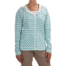 Columbia Sportswear Ocean Tides Hoodie - Full Zip (For Women) in Miami Stripe - Closeouts