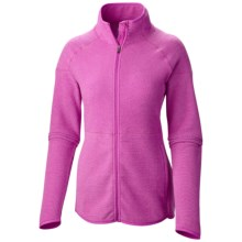 Columbia Sportswear Ombre Springs Omni-Wick® Fleece Jacket (For Women) in Foxglove - Closeouts