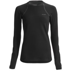 Columbia Sportswear Omni-Heat® Base Layer Top - Heavyweight, Long Sleeve (For Women) in Black W/Contrast Stitching