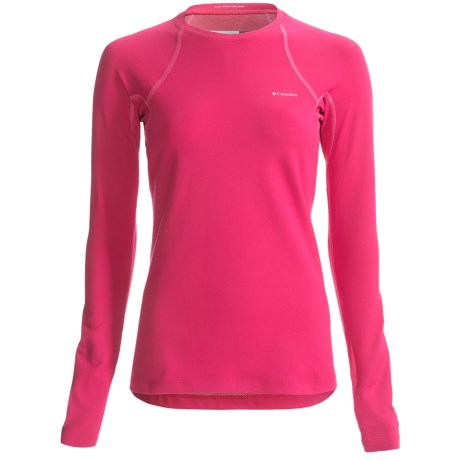 Columbia Sportswear Omni-Heat® Base Layer Top - Heavyweight, Long Sleeve (For Women) in Bright Rose