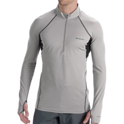 Columbia Sportswear Omni-Heat® Base Layer Top - Heavyweight, Zip Neck, Long Sleeve (For Men) in Black
