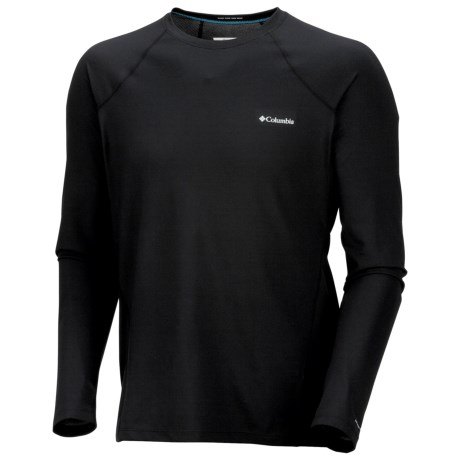 Columbia Sportswear Omni-Heat® Base Layer Top - Midweight, Long Sleeve (For Men) in Black