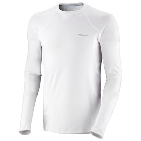 Columbia Sportswear Omni-Heat® Base Layer Top - Midweight, Long Sleeve (For Men) in Black