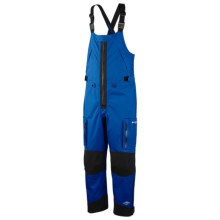 Columbia Sportswear Omni-Heat® Gale Warning Overall Bibs - PFG, Omni-Tech®, Waterproof (For Men) in Azul/Black - Closeouts