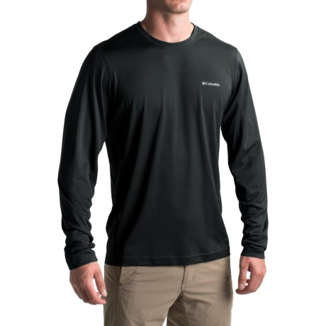 Columbia Sportswear Omni-Heat® Omni-Wick® II Base Layer Top - Long Sleeve (For Men) in Black