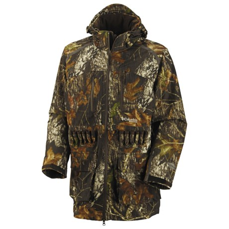 Columbia Sportswear Omni-Heat® PHG Long Shell Jacket - Waterproof (For Men) in Mossy Oak Breakup