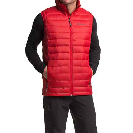 Columbia Sportswear Omni-Heat® Voodoo Falls 590 TurboDown® Vest (For Tall Men) in Mountain Red - Closeouts