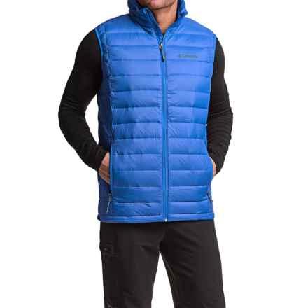 Columbia Sportswear Omni-Heat® Voodoo Falls 590 TurboDown® Vest (For Tall Men) in Super Blue - Closeouts