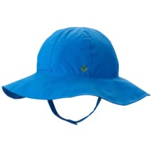 Columbia Sportswear Omni-Shade® Booney Hat - Packable (For Infants) in Hyper Blue - Closeouts