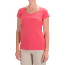 Columbia Sportswear Omni-Shade® PFG Innisfree Shirt - UPF 50, Short Sleeve (For Women) in Bright Geranium - Closeouts
