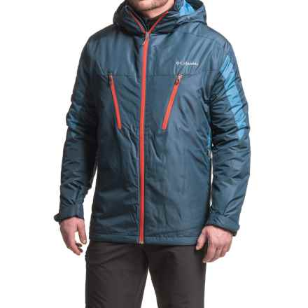 Columbia Sportswear Omni-Shield® Antimony IV Jacket - Waterproof, Insulated, Hooded (For Big Men) in Collegiate Navy/Night Tide - Closeouts