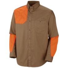 Columbia Sportswear Omni-Shield® PHG Full Flush Shirt - Omni-Shade® UPF 50, Long Sleeve (For Men) in Sahara/Blaze Orange - Closeouts