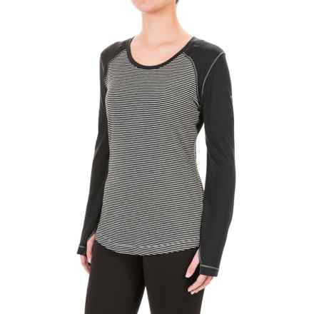 Columbia Sportswear Omni-Wick® Layer First II Striped Shirt - UPF 40, Long Sleeve (For Women) in Black Heathered Stripe - Closeouts