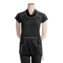 Columbia Sportswear On Guard Shirt - Jersey Knit, Short Sleeve (For Women) in Black - Closeouts