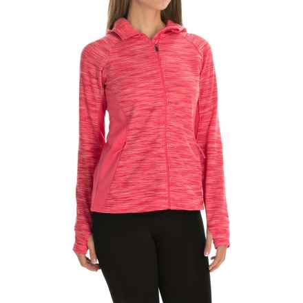 Columbia Sportswear Optic Got It Hoodie Jacket (For Women) in Bright Geranium - Closeouts