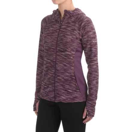 Columbia Sportswear Optic Got It Hoodie Jacket (For Women) in Dusty Purple - Closeouts