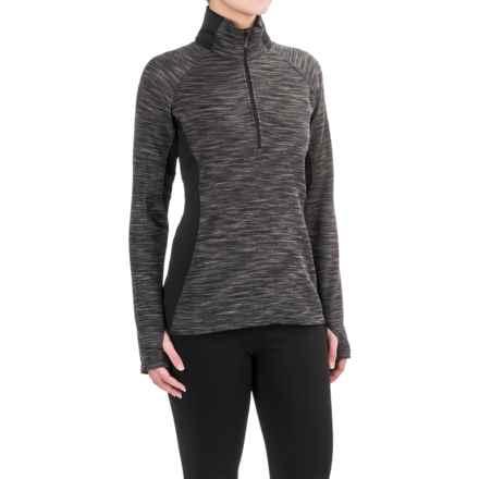 Columbia Sportswear Optic Got It Shirt - Zip Neck, Long Sleeve (For Women) in Black - Closeouts