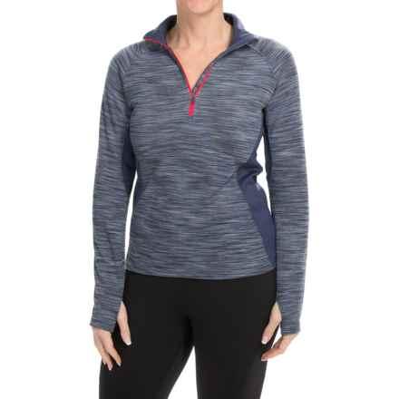 Columbia Sportswear Optic Got It Shirt - Zip Neck, Long Sleeve (For Women) in Nocturnal - Closeouts