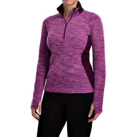 Columbia Sportswear Optic Got It Shirt - Zip Neck, Long Sleeve (For Women) in Purple Dahlia - Closeouts