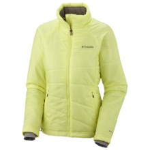 Columbia Sportswear Orbit Freeze Omni-Heat® Jacket - Insulated (For Women) in 797 Neon Light - Closeouts