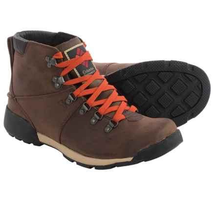 Columbia Sportswear Original Alpine Boots (For Men) in Tobacco/Cinnabar - Closeouts
