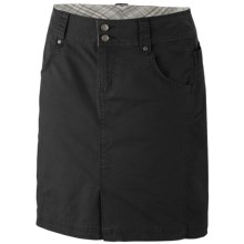 Columbia Sportswear Original Avenue Skirt - UPF 50, Stretch Cotton (For Women) in Black - Closeouts
