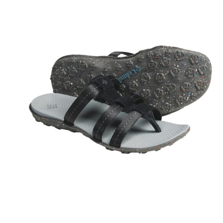 Columbia Sportswear Orla Slide Thong Sandals (For Women) in Black