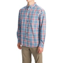 Columbia Sportswear Out and Back II Shirt - Button Front, Long Sleeve (For Men) in Mirage Small Plaid - Closeouts