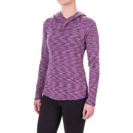 Columbia Sportswear Outerspaced Hooded Shirt - Long Sleeve (For Women) in Plum - Closeouts