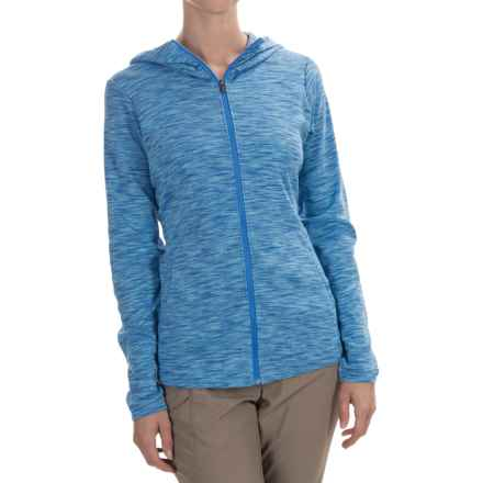Columbia Sportswear Outerspaced Hoodie - Full Zip (For Women) in Stormy Blue - Closeouts