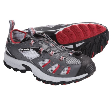 Columbia Sportswear Outpost Hybrid Amphibious Shoes (For Men) in 028 Grill/Intense Red