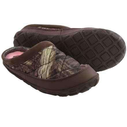 Columbia Sportswear Packed Out II Camo Slippers - Omni-Heat®(For Women) in Mossy Oak/Sorbet - Closeouts
