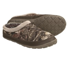 Columbia Sportswear Packed Out Omni-Heat® Camo Slippers (For Women) in Tusk/Coral Pink - Closeouts