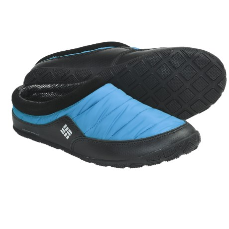 Columbia Sportswear Packed Out Omni-Heat® Slippers (For Men) in Compass Blue