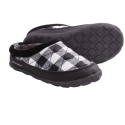 Columbia Sportswear Packed Out Slippers - Omni-Heat® (For Youth Boys and Girls) in Black/White