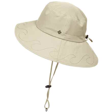 Columbia Sportswear Paddler Booney Hat - UPF 50 (For Women) in Fossil - Closeouts