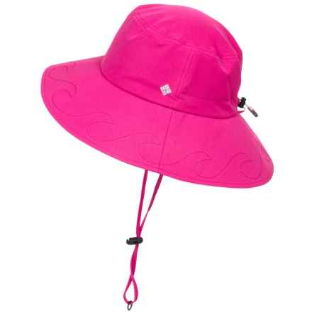 Columbia Sportswear Paddler Booney Hat - UPF 50 (For Women) in Haute Pink - Closeouts