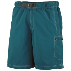 Columbia Sportswear Palmerston Peak Shorts - UPF 50, Built-In Mesh Brief (For Big Men) in Aegean Blue