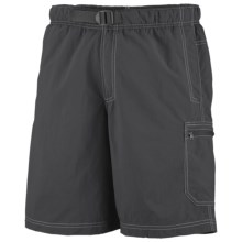 Columbia Sportswear Palmerston Peak Shorts - UPF 50, Built-In Mesh Brief (For Big Men) in Grill - Closeouts