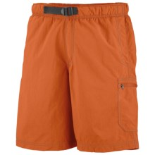 Columbia Sportswear Palmerston Peak Shorts - UPF 50 (For Men) in Heatwave/Grill - Closeouts