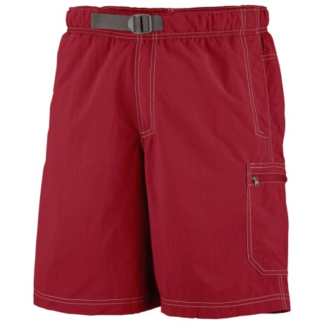 Columbia Sportswear Palmerston Peak Shorts - UPF 50 (For Men) in Red Velvet