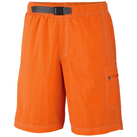 Columbia Sportswear Palmerston Peak Shorts - UPF 50 (For Men) in Spark Orange