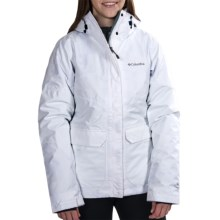 Columbia Sportswear Parallel Peak Omni-Heat® Interchange Jacket - 3-in-1 (For Women) in White Lumberjack Plaid - Closeouts