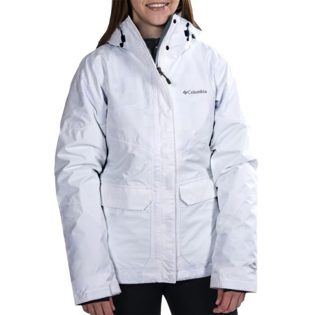 Columbia Sportswear Parallel Peak Omni-Heat® Interchange Jacket - 3-in-1 (For Women) in White Lumberjack Plaid