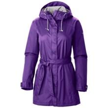 Columbia Sportswear Pardon My Trench Omni-Shield® Rain Jacket - Waterproof (For Women) in Inkling - Closeouts